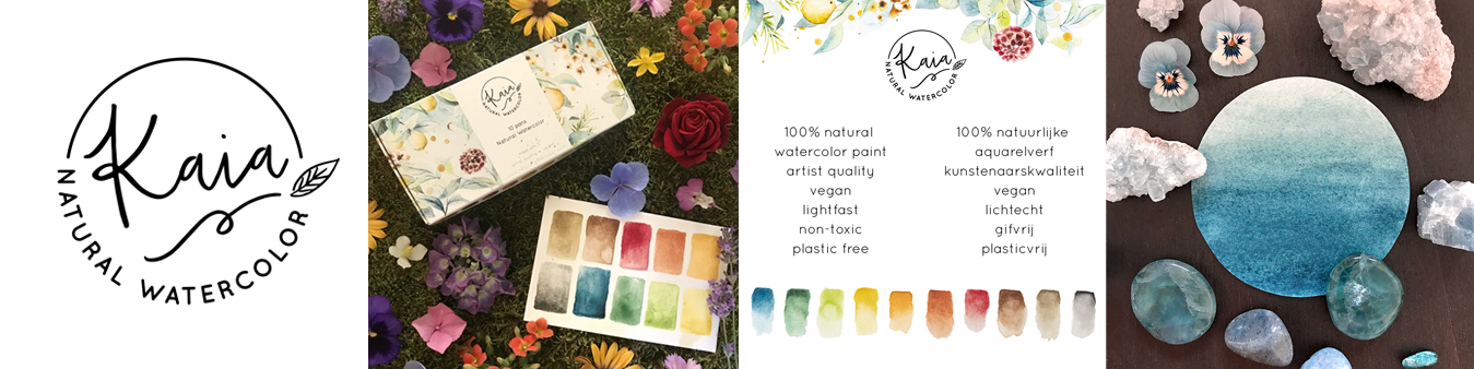 Kaia Natural Watercolors