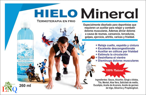 Pinterest Muscle relaxing mineral ice suitable for shelo nabel athletes