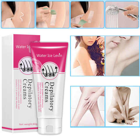 Water Ice Levin Depilatory Cream - Hair Removal Cream