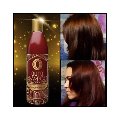 shading shampoo for red tones