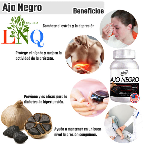 Black garlic supplement