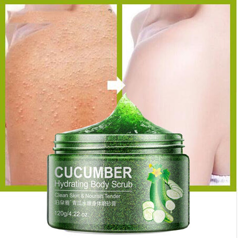 Bioacua cucumber extract body scrub