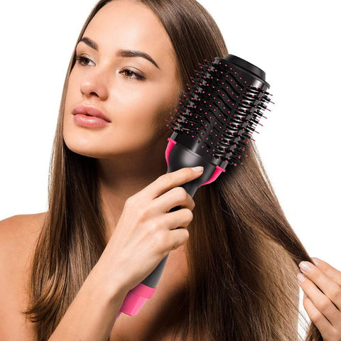 Hair dryer curler comb, hot air brush