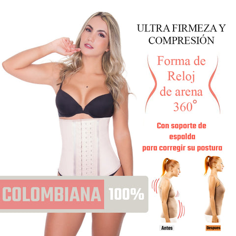Colombia thermal latex waistband girdle
