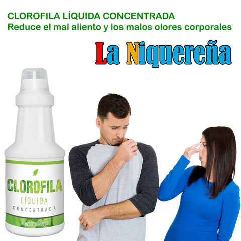 liquid chlorophyll concentrate