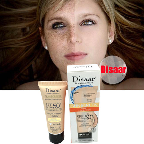 disaar foundation with sunscreen