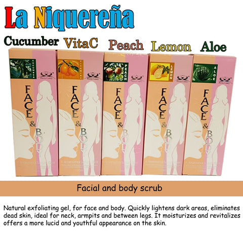 ingredientes del face and body