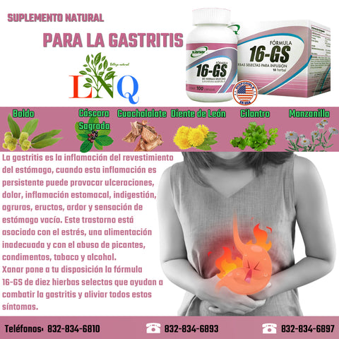 natural supplement for gastritis