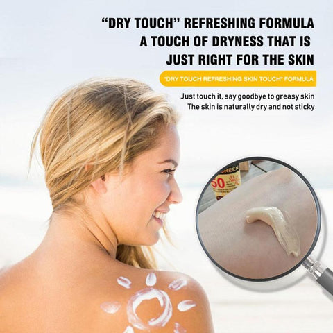 facial and body sunscreen