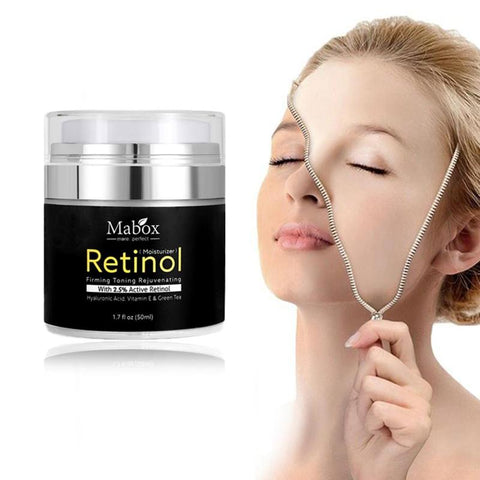 retinol mabox for facial skin care