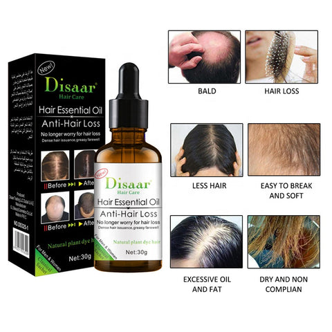 disaar essential oil anti hair loss and hair growth