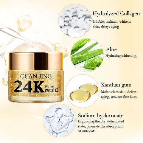 24 karat gold cream ingredients