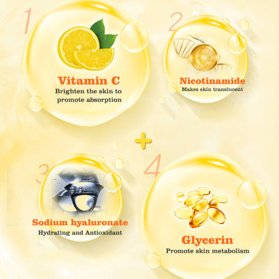 ingredients whitening mask vitamin c