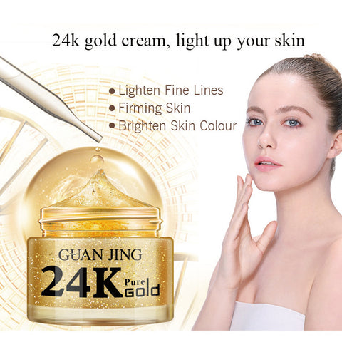 24 karat gold collagen cream