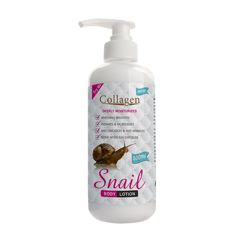 snail slime lotion with collagen