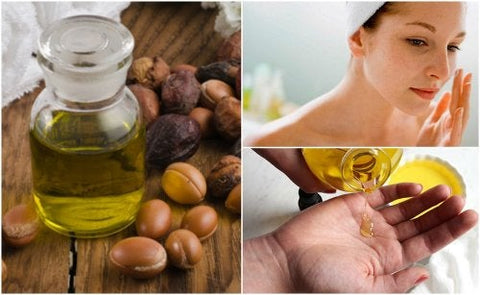 argan oil to rejuvenate the skin of the face