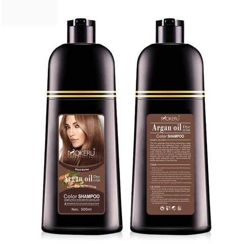 mokeru brown hair shampoo