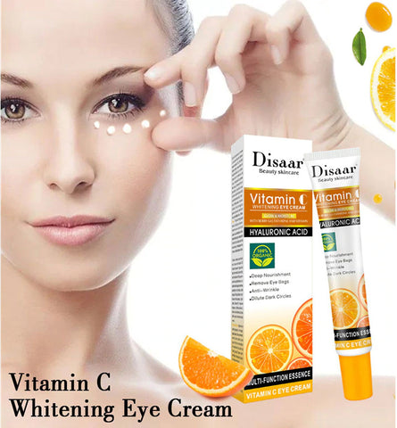 Vitamin c and hyaluronic acid cream to correct fine lines