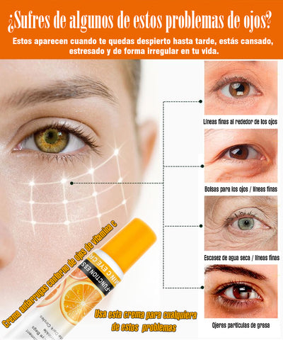Vitamin c anti-wrinkle eye cream