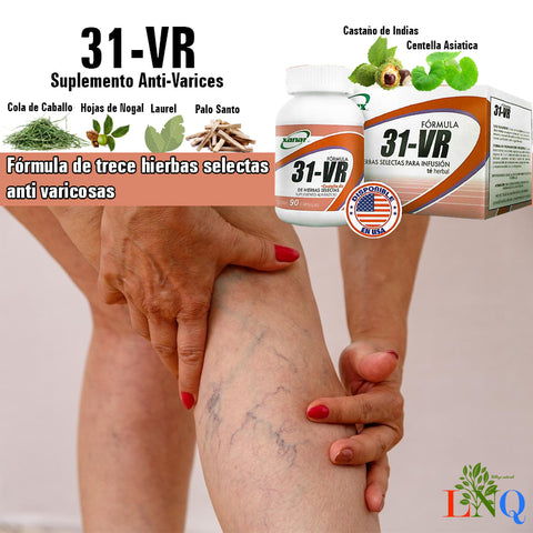 natural supplements in the treatment of varicose veins