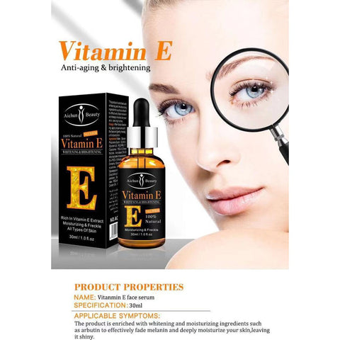 anti-stain facial serum vitamin E