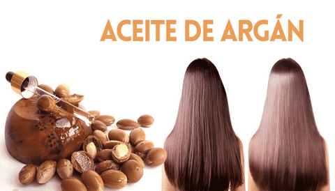 repair hair with pure argan oil