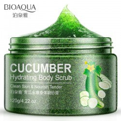 Bioacua cucumber natural scrub