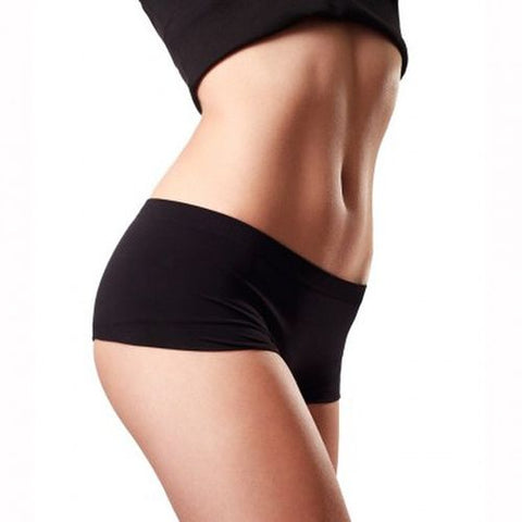 toned body with toning ultrasonic machine
