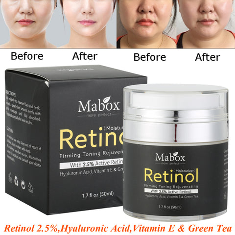 retinol anti-stain and anti-aging cream