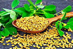 fenugreek to lift buttocks