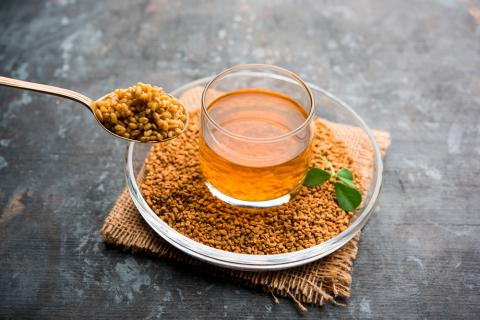 Fenugreek oil to smother breasts in women
