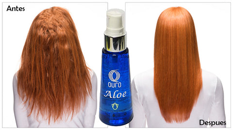 aloe extract hair silk