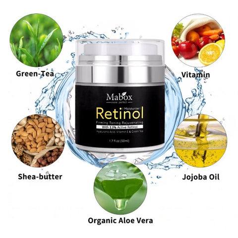 Vitamin C + Retinol Mabox Serum