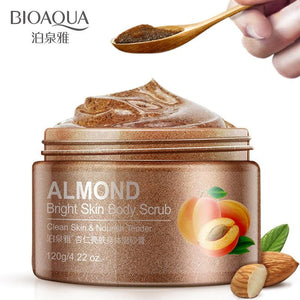 bioaqua brand almond extract body scrub