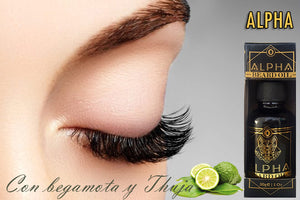 Bergamot for ouro alpha eyelashes