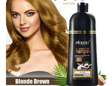 Load image in the gallery viewer, shampoo with chemical-free blonde tint