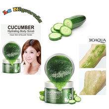 Upload image to gallery viewer, Boiaqua brand cucumber body scrub