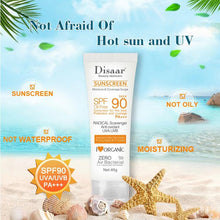 Upload image to gallery viewer, facial and body sunscreen disaar