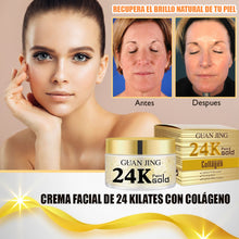 Load image in gallery viewer, 24 karat anti aging facial cream with collagen
