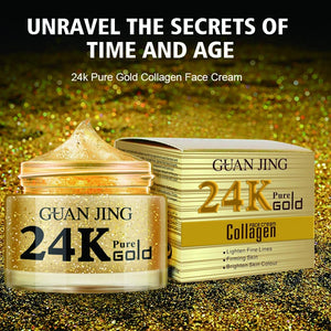 24 karat pure gold collagen