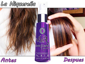 ouro grape hair silk