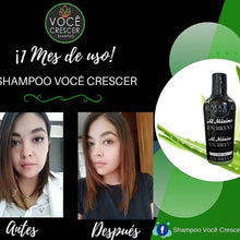 Load image in gallery viewer, hair growth shampoo voce crescer