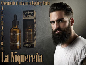 alpha ouro with bergamot for men's beard
