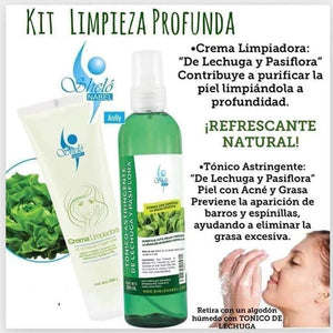 offers deep skin cleansing