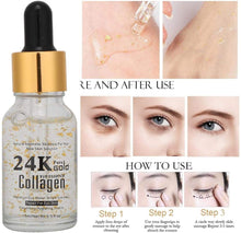 Load image in gallery viewer, 24 karat moisturizing facial serum