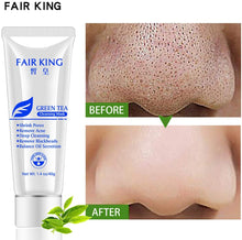 Uploading image to the gallery viewer, Chezaa fair king Green Tea Mask tightens the skin to