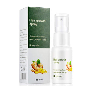 plant extracts sparay to stop hair loss