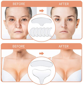 silicone face lift pads