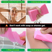 Upload image to gallery viewer, super soft sponge to remove dead skin