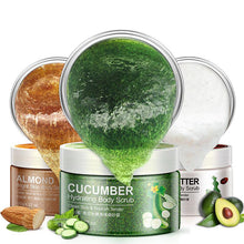 Upload image to gallery viewer, Almond, Cucumber and Karite Extract Body Scrub